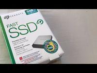 SSD Seagate Fast 500GB - 540mb/s SSD Extern Nou sigilat ca samsung wd