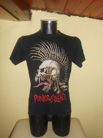 tricou punks not dead marimea M