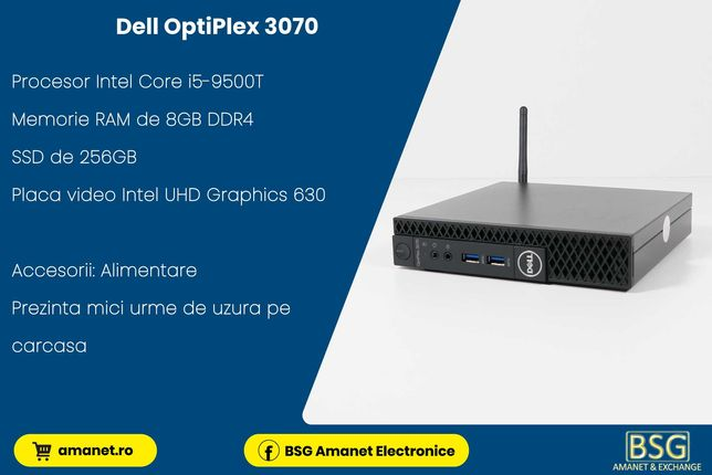 UNITATE PC DELL OptiPlex 3070 - BSG Amanet & Exchange