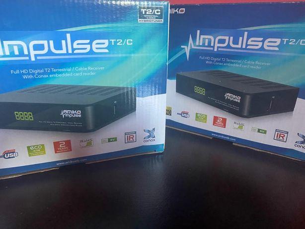 Receptor De Cablu/Media Player/Amiko Impulse T2/C