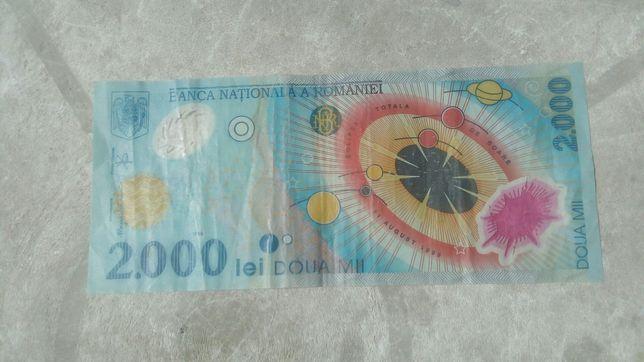 Bancnota 2000 lei