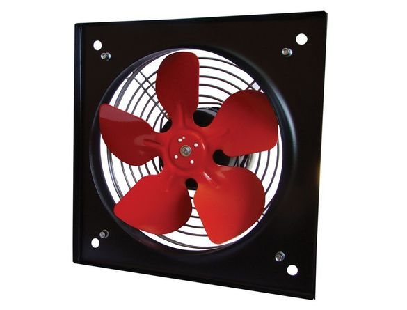 Промишлен вентилатор осев с клапа ММоторс