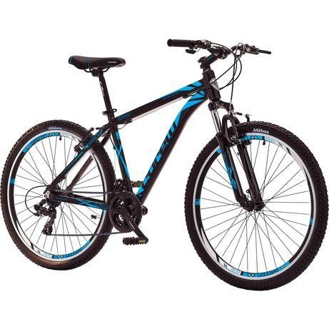 """Bicicleta MTB 27.5"""" Corelli 3.1, Cadru ALUMINIU L, negru-albastru, NOU"""