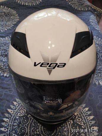 Мотошлем VEGA, Б/У, XL