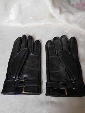 Мъжки ръкавици кожа
