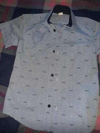 Летняя рубашка на мальчика