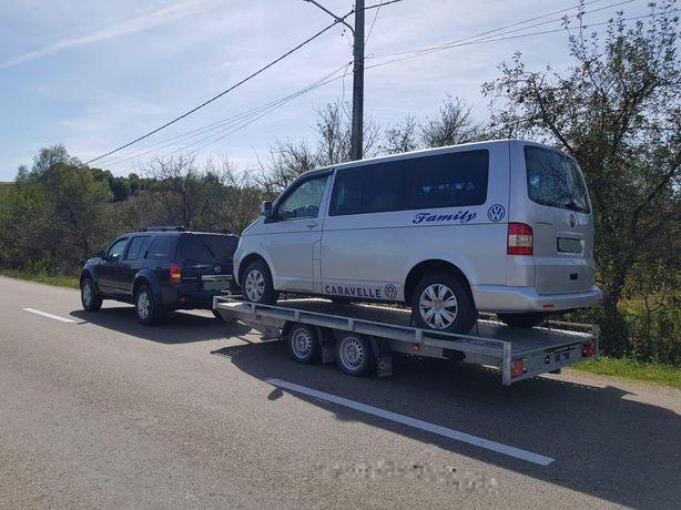 Tractari auto pe platforma - NON STOP - Depanare - Oradea - Ungaria