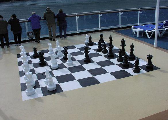 Малък градински шах