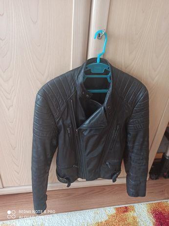 Geacă biker/motor, piele naturală, 36-38