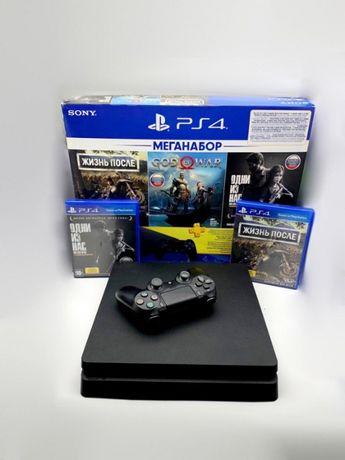 Рассрочка 0% PlayStation 4 Slim 1 тб «Ломбард Белый» Алматы