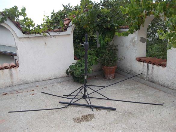 Градински чадър Muhler 3m U1006, Алуминиев за ремонт или части