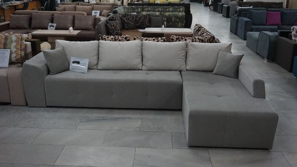 Холов ъглов диван ЛАГУНА Мебели РУМ Кремиковци