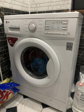 Стиральная машина (стиралка, машинка LG direct drive 5кг)
