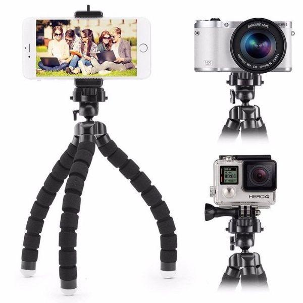 Нов подсилен дизайн – hsu sport трипод 20 см за смартфон и фотоапарат гр. София - image 1