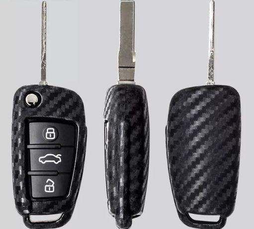 Husa-Cheie-Briceag-Model-Carbon-Audi-A3-A4-A6-Quattro-20-30-TDI-Sline