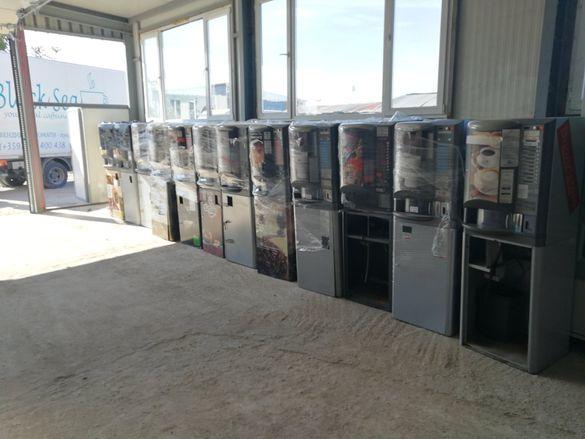 Кафе вендинг автомати Брио и Колибри в сурово състояние