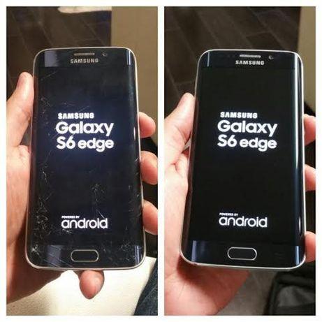 Inlocuire sticla geam display Samsung Galaxy s9 s10 s20 iphone 7 8 11