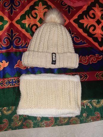 Продам зимнюю шапку за 3000т