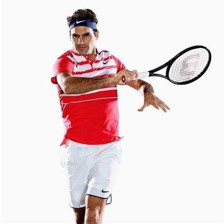 Тениска Nike Premier Roger Federer Polo Shirt RF Crimson Nadal Jordan