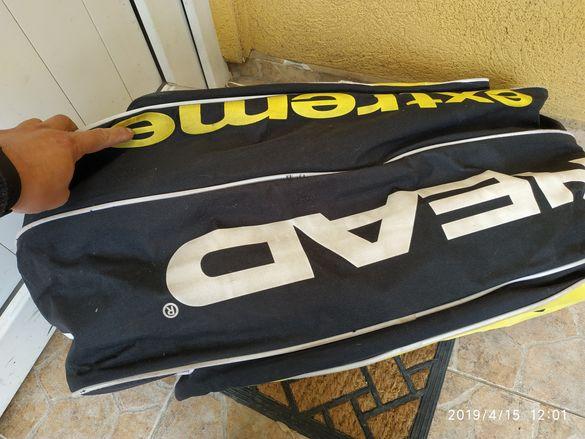Тенис сак термобег за 9 ракети