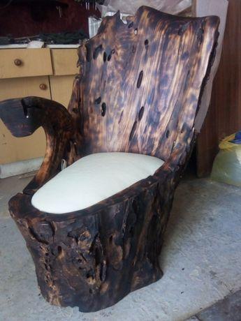 Эксклюзивное кресло из дерева