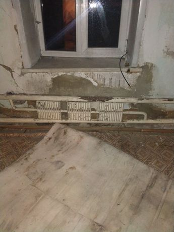 Радиатор отопления частного дома.