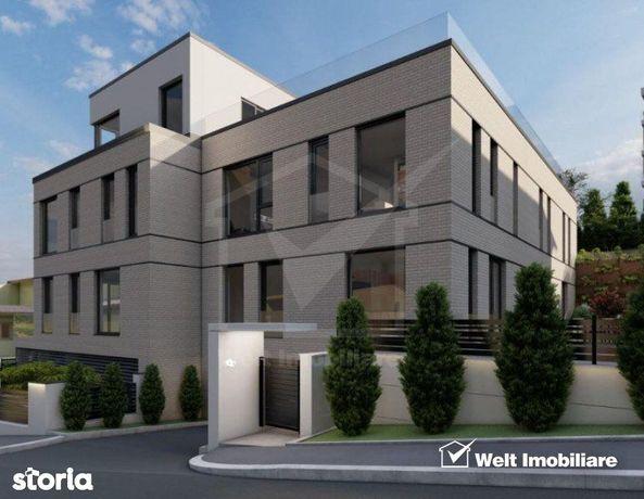 Apartament cu gradina, imobil nou (duplex), in cartierul Gruia