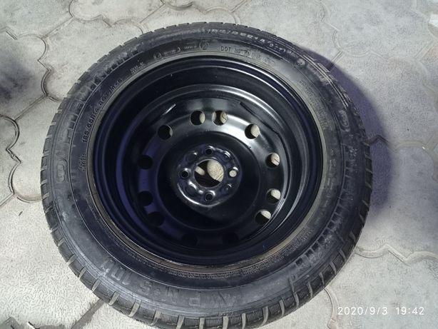 Продам одно колесо на запаску колесо 14/4 Фольксваген Пассат. гольф