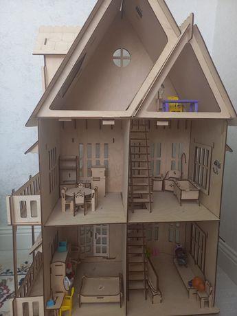 Домик для кукол и кухня