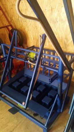Оборудование, станок для производства сплитерного блока, пескоблока