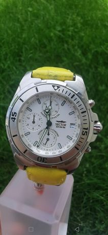 Ceas Sector 255 Chronograph - Sapphire Crystal - 100 m - 39*46 mm