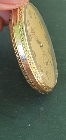 Ceas doxa de buzunar din aur 68g , servisat