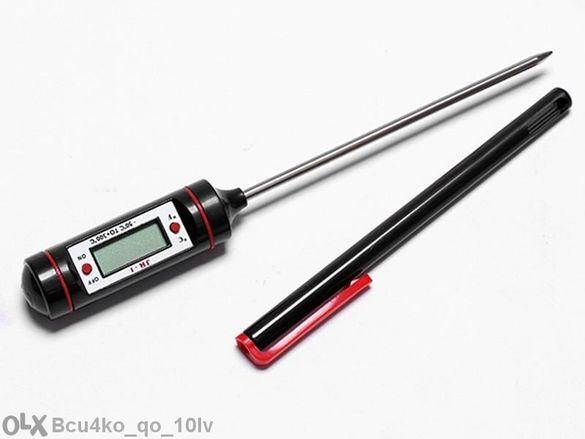 Дигитален Кухненски Термометър с 15см сонда / Готвене гр. Трявна - image 2