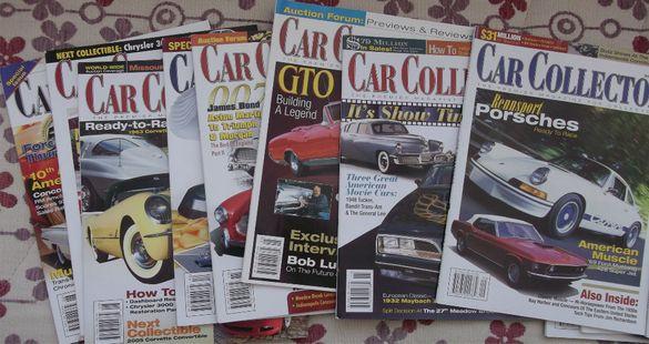 Уникално списание Car Collector ретро автомобили подобно на Автокласик