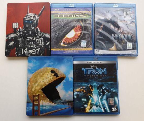 Vand 5 filme bluray originale 2D si 3D cu titrare in limba romana