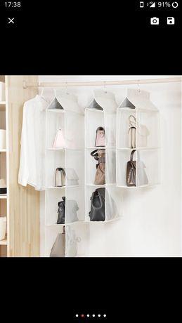 Органайзер за чанти за гардероб