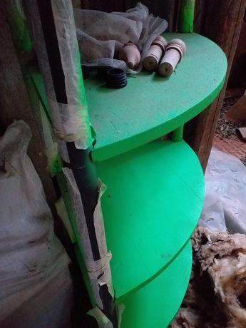 Raft din lemn, recondiționat