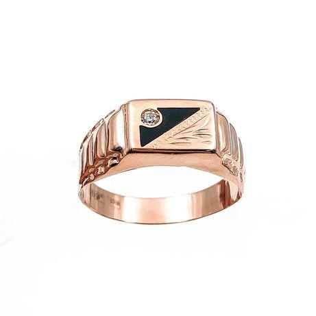 АКЦИЯ! Золотое мужское кольцо (печатка) 585 «Ломбард Верный» Г6209