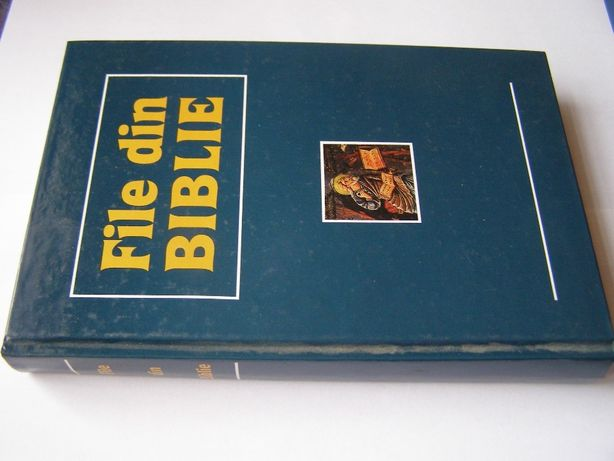 File din Biblie , Chisinau , 1990