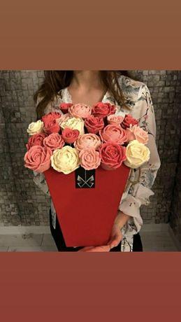 Шоколадные розы!