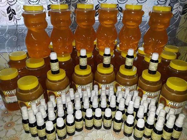 Vând miere de albine poliflora naturală