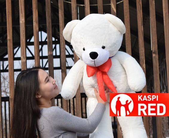 KASPI RED Мишка панда мягкая плюшевая игрушка жұмсақ аю