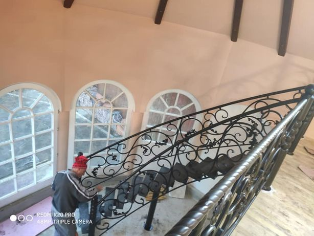 scari interioare si exterioare din fier si fier forjat