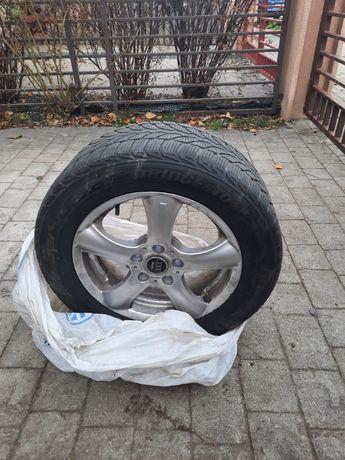 Vand 4 roti iarna Bridgestone cu jante aluminiu Audi A4.