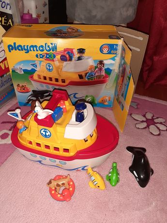 Playmobil barca 6957 si playmobil ferma 2011