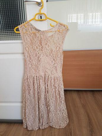 Rochie culoarea crem