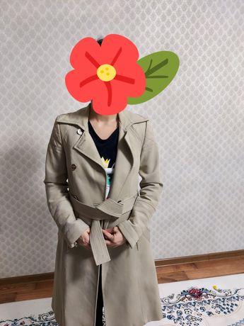Плащ/тренч от Zara, срочно, торг, весна-осень, 40-42 р.