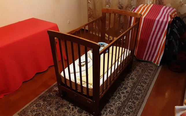 Кровать детская (Манеж, Красная звезда)