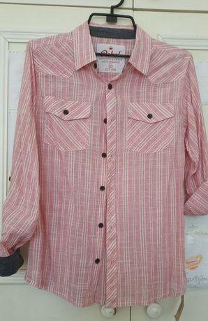 Нова риза на Ребел размер 158 и бели блузки с якичка за 13-15 г.