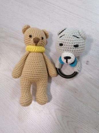 Плетени бебешки играчки